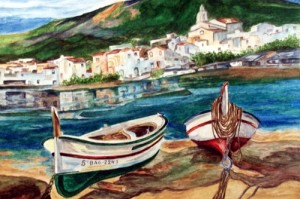 Cadaques - barques
