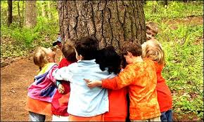 abraçar un arbre