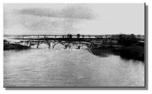 ponte Liñares destruido en los 60