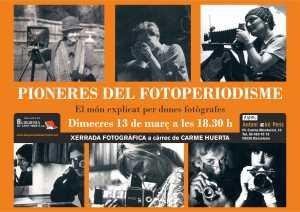Poster Pioneres Fotoperiodisme